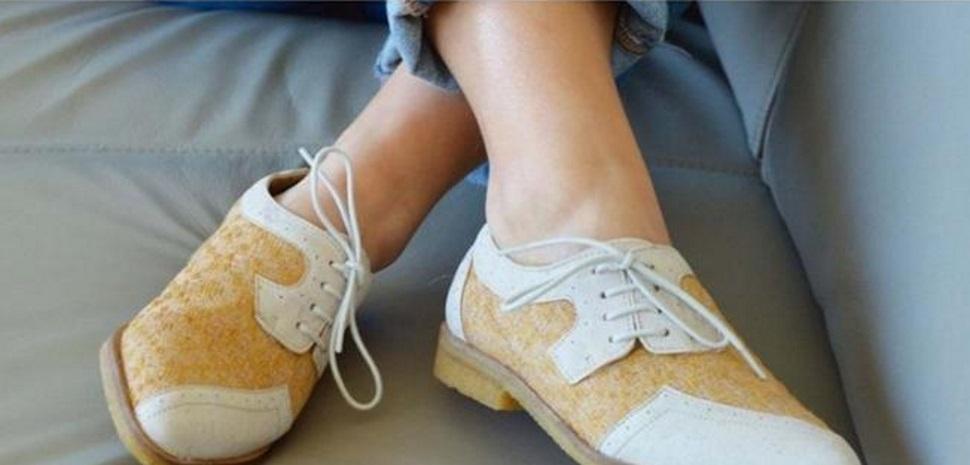 Sapatos vegan de Lourosa nomeados para prémio de design sustentável