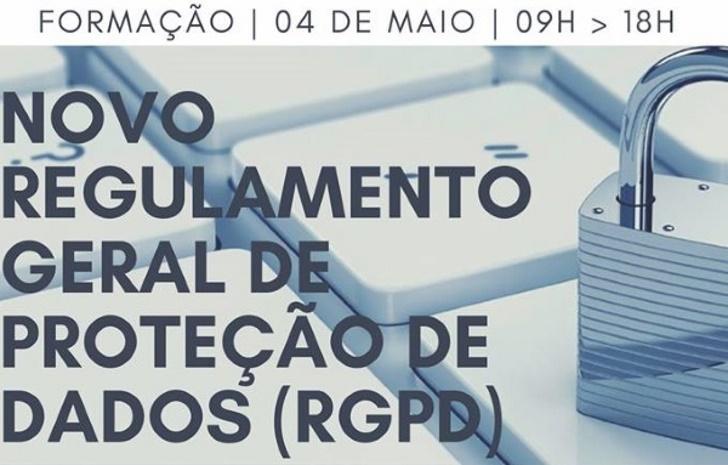 Formação - Novo Regulamento Geral de Protecção de Dados (RGPD)