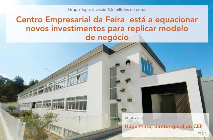 CENTRO EMPRESARIAL DA FEIRA IS EQUATING NEW
