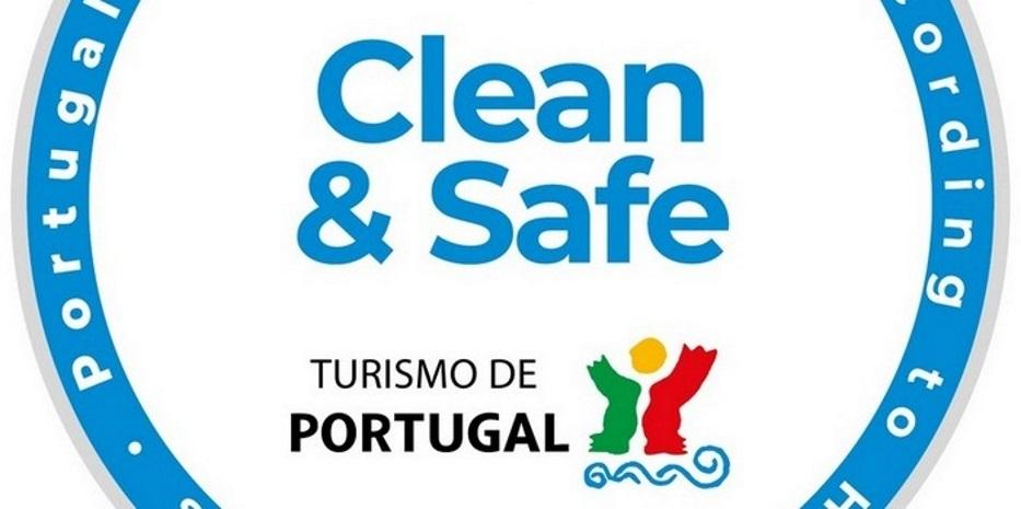 """Turismo - Selo """"Estabelecimento Clean & Safe"""""""
